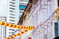 Building Architecture in Chinatown Singapore