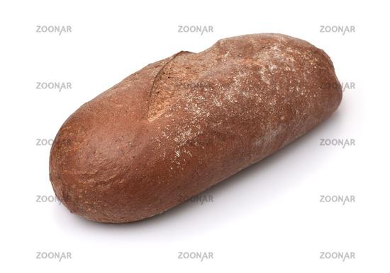 Loaf of fresh baked rye bread