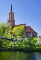 Church St. Marien und Andreas, Rathenow, Brandenburg, Germany