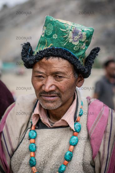 Traditional man in Ladakh
