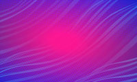 Blue Magenta wave festive abstract background. Christmas and New year