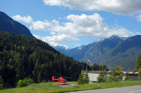 Rescue helicopter OE-XHH in Tyrol