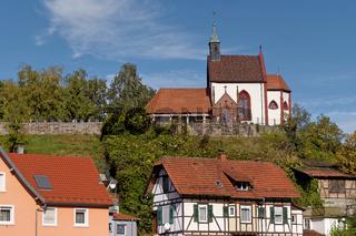 Wendelinus-Kapelle in Weisenbach Murgtal