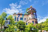 Hundertwasser house in Bad Soden, Hessen