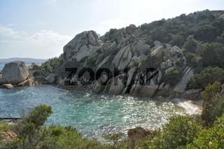 Bucht bei Porto Rafael Sardinien