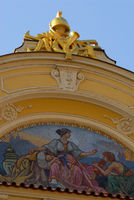 Detail on a roof, Old Town Square