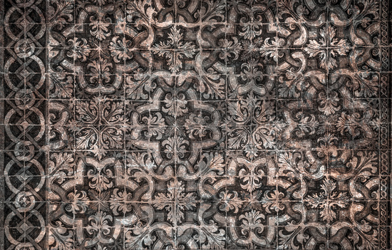 grunge vintage ceramic tiles background