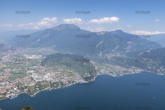 Overview of riva del garda