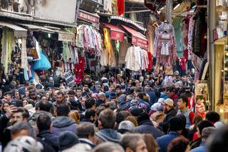 Shopping street in Fatih