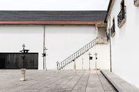 Coimbra, Portugal - July 16 2019: Museu Nacional Machado de Castro