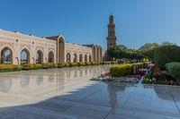 Sultan Qabus Mosque, Maskat, Oman