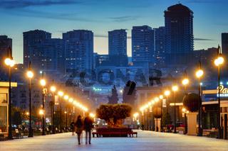 Winter boulevard