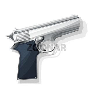 Gray pistol