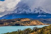 The magnificent cliffs of Los Cuernos