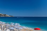 Beach in French Riviera