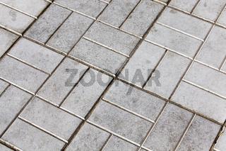 gray concrete tile
