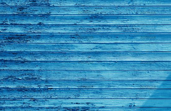 cyan wooden wall