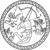 Stymphalian birds. 12 Labours of Hercules Heracles