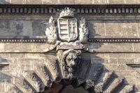 Adam Clark Tunnel under Castle Hill in Budapest