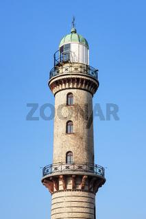 Alter Leuchtturm von Rostock Warnemünde