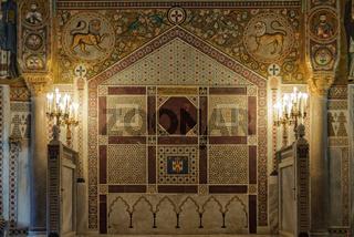 Mosaics in Cappella Palatina - Palermo