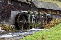 Hexenlochmühle near St.Maergen in the Black Forest