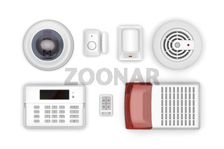 Security electronic devices