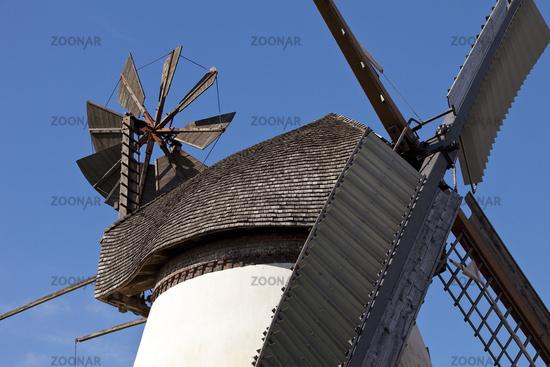 wind mill Heimsen, Petershagen, East Westphalia, North Rhine-Westphalia, Germany, Europe