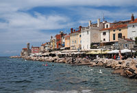 Piran - town on the Adriatic coast of Slovenia