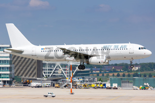 Just Us Air Airbus A320 airplane Stuttgart airport