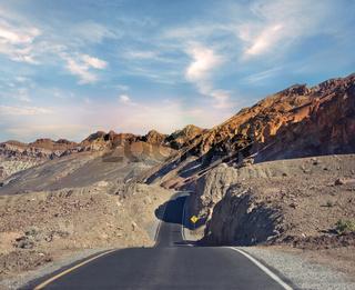 Death Valley National Park, California, USA.Artist's Drive.
