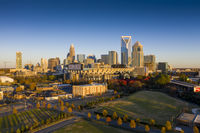 Aerial Views Of The City Of Charlotte, North Carolina