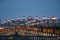 People on Patriarch bridge