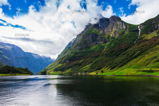 Beautiful view of the sognefjord.