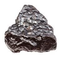 piece of Hematite (Kidney Ore) stone isolated