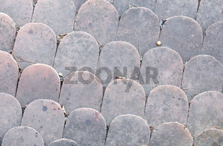 African old roof tiles