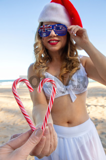 Candy cane love at Christmas