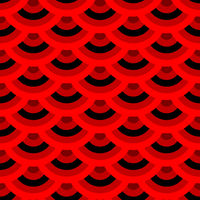Chinese screen seamless red pattern with black parts