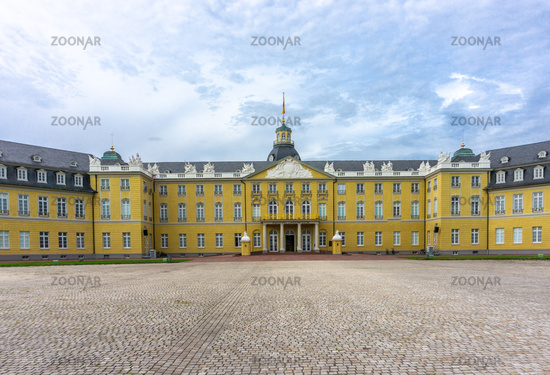 The castle in Karlsruhe