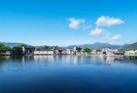 picturesque anhui hong village