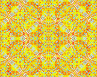Bright Vivid Warm Colors Seamless Pattern