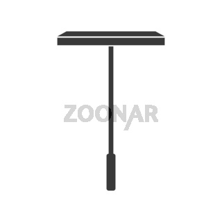 Window Cleaning Squeegee Icon Vector