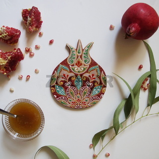 Rosh Hashanah Concept photo (Jewish New Year)