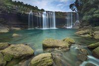 Krang Shuri waterfall, West Jaintia Hills, Meghalaya