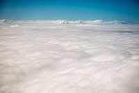 View above clouds