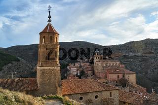 Church from albarracin town in teruel