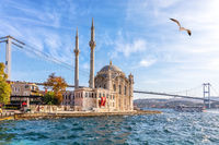 Ortakoy Mosque or the Grand Imperial Mosque of Sultan Abdulmecid, Istanbul