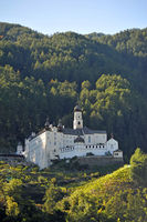 Benedictine Monastery Marienberg in Burgeis South Tyrol