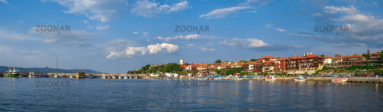 Marina in the resort of Nesebar, Bulgaria