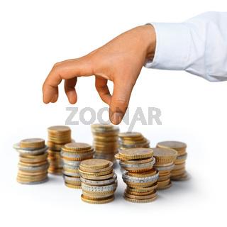 Geldserie: Geld greifen